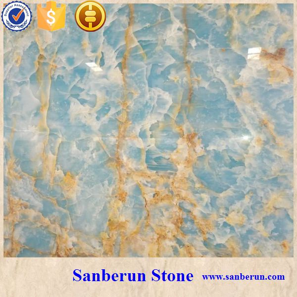 Blue Onyx Marble Slab for sale