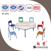 SY Good quality kids desk and chair set pink play school desk play school furniture delhi