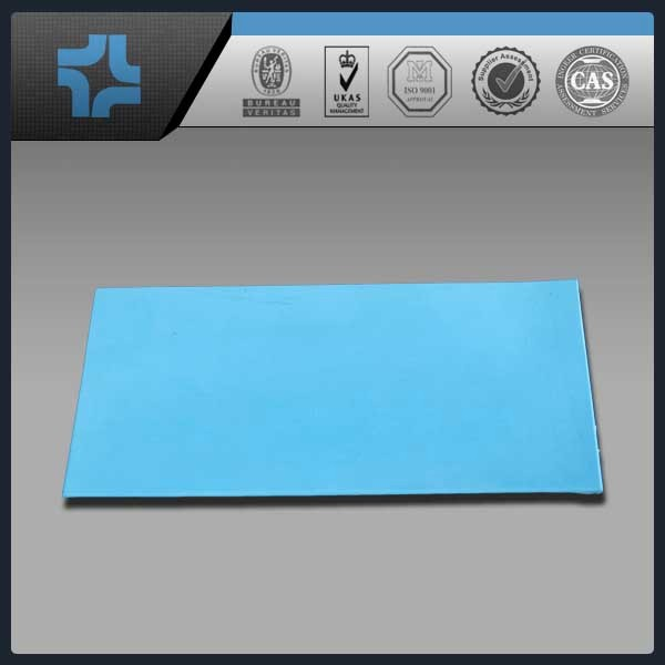 blue glass filled PTFE Teflon sheet plate