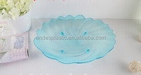 Shell-shaped Transparent Plastic Plate PS material