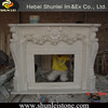 Wholesale low price American style granite fireplace