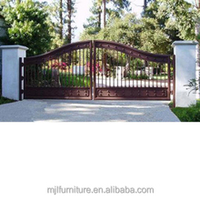 welded designs rolling auto folding fence gate
