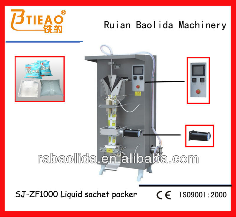SJ-ZF1000 Automatic Milk/Liquid Filling And Packing Machine