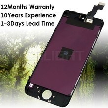 wholesale for iphone 5c lcd panel, lcd digitizer display assembly for iphone 5c with best quality
