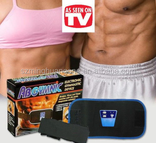 AB Gymnic body building vibrating abdominal slimming belt