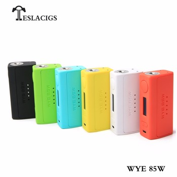 New products Tesla WYE 85w vapor starter kit with charming active design bring you cost-effective feeling