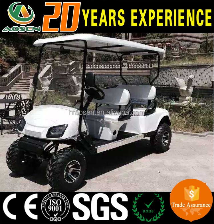 China 4 seater electric used golf cart with high quality off-road tire