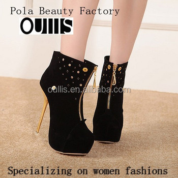 2017 high heel boots sexy designs women admire PZ3147