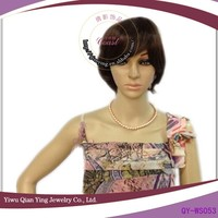 hot sale wholesale short u part wigs, lady short hair wigs