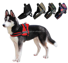 Canvas weighted pet harness for large dog,training dog harness