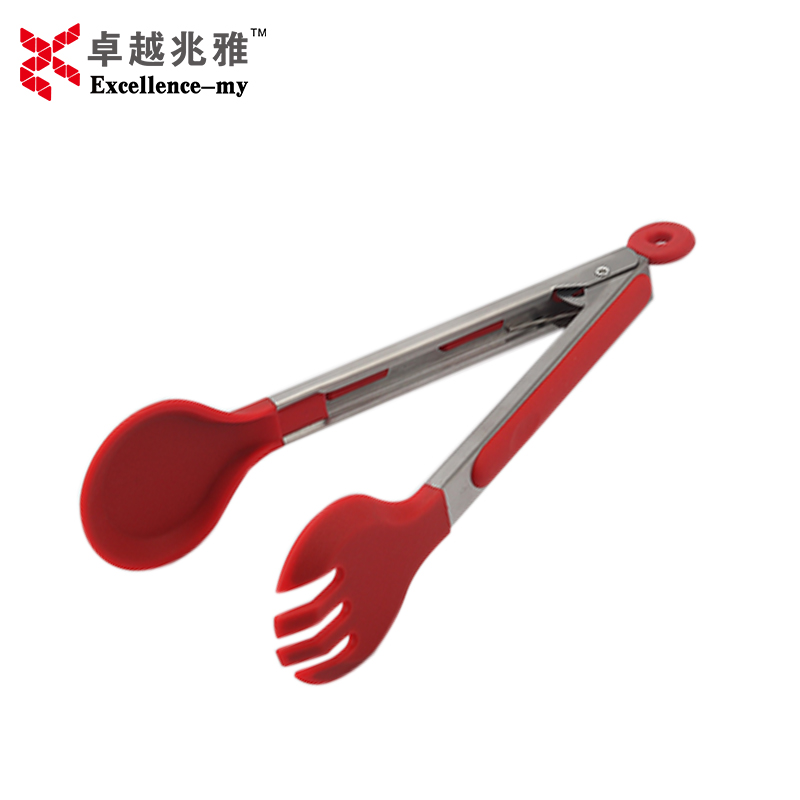 9 Inches Stainless Steel <strong>109</strong> Silicone Locking Food Tongs Small Food Tong Kitchen Tongs