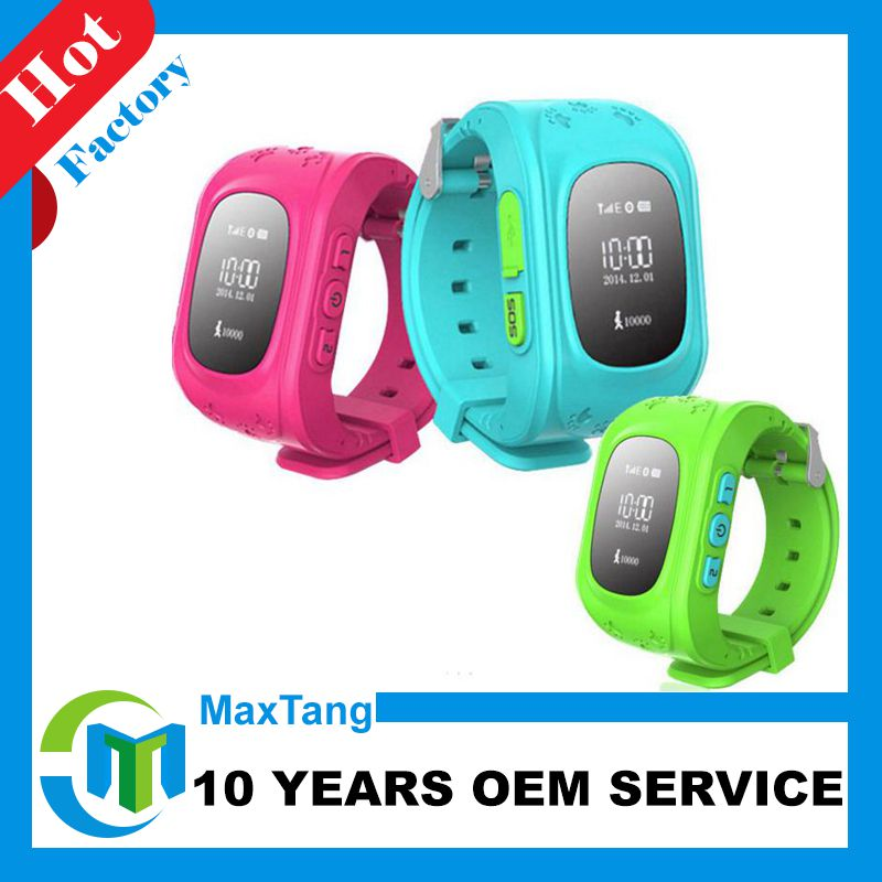 Alibaba express china SOS GPS Smart watch for kids Q50 anti-lost relojes inteligentes