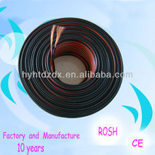 High End Black and Red Speaker wire