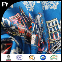 Factory custom new design high quality digital printing 95 cotton 5 elastane fabric
