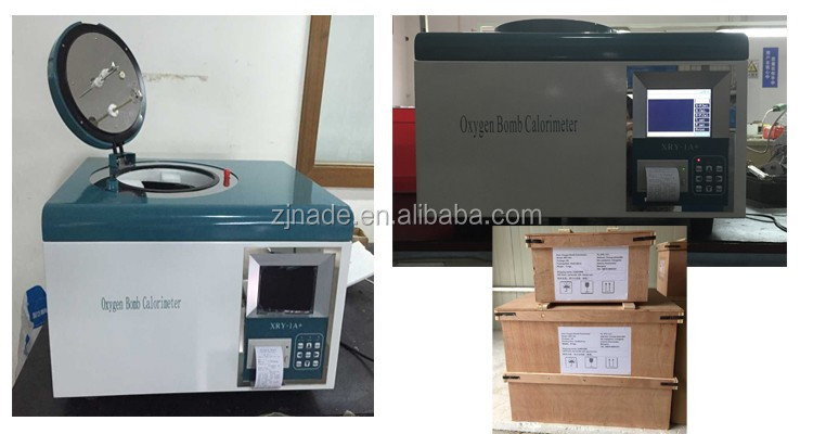 Nade Cheap Price Lab Coal Measuring & Analysing Instruments Oxygen Bomb Calorimeter XRY-1A+