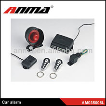 manual car alarm system/smart phone car alarm/two way alarm car steering wheel lock
