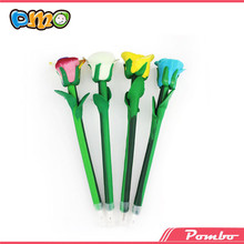 Latest Hot Selling!! beautiful polymer clay pen flower cheap pen E-5155