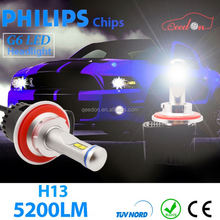 Qeedon 2015 led moving head beam hi/lo h7 headlight g6 factory