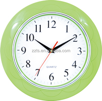 Pure color best selling home good products clock wall, simple desgin wall clock