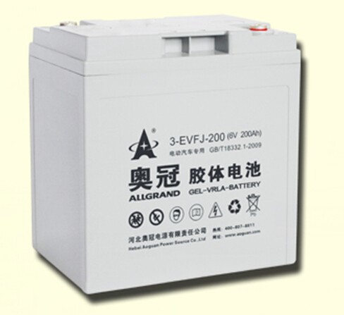 6V battery for Electric Car / golf cart /6V200Ah