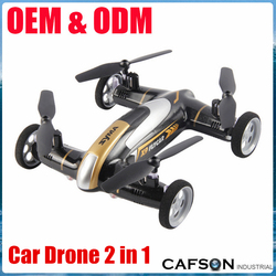 Hot selling flying car rc drone and car 2 in 1 2.4G remote control car drone