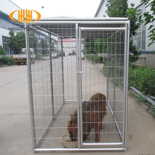Made in China hot dip galvanized steel bar dog run kennel