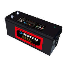 12v dry charged battery n120 120ah lead acid auto truck battery