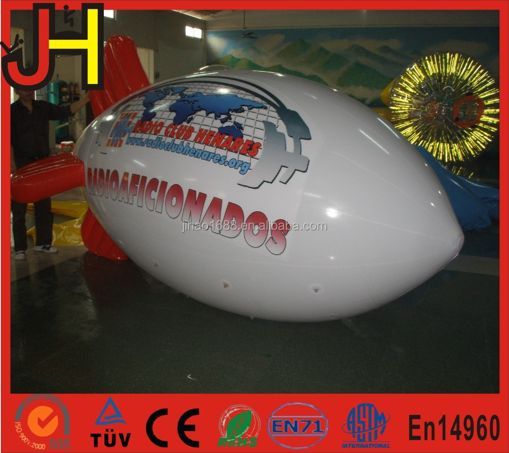 Custom Inflatable Remote Control RC Blimp For Sale