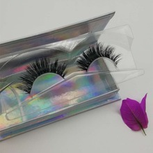 Wholesale Private label Silk Strip Eyelashes 3D Faux Mink Free False Eye Lashes Samples Synthetic Fiber Lashes