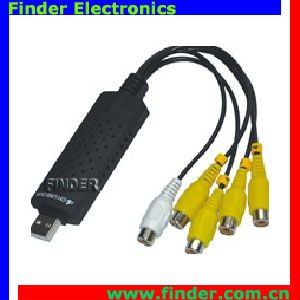 USB Capture with 1 channel audio input 4 channels video input