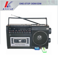 Portable cassette radio usb/sd music player
