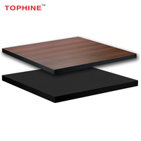 TOPHINE Furniture Hot Sale MFC Mahogany