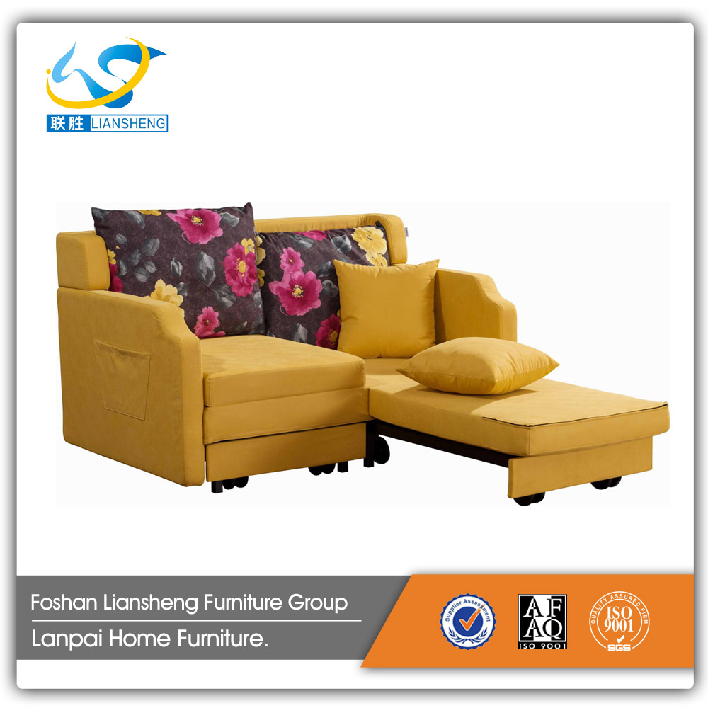 Multi-function sofa bed L-shaped for living room