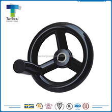 CNC Machining low carbon steel cast iron gate valve handwheel