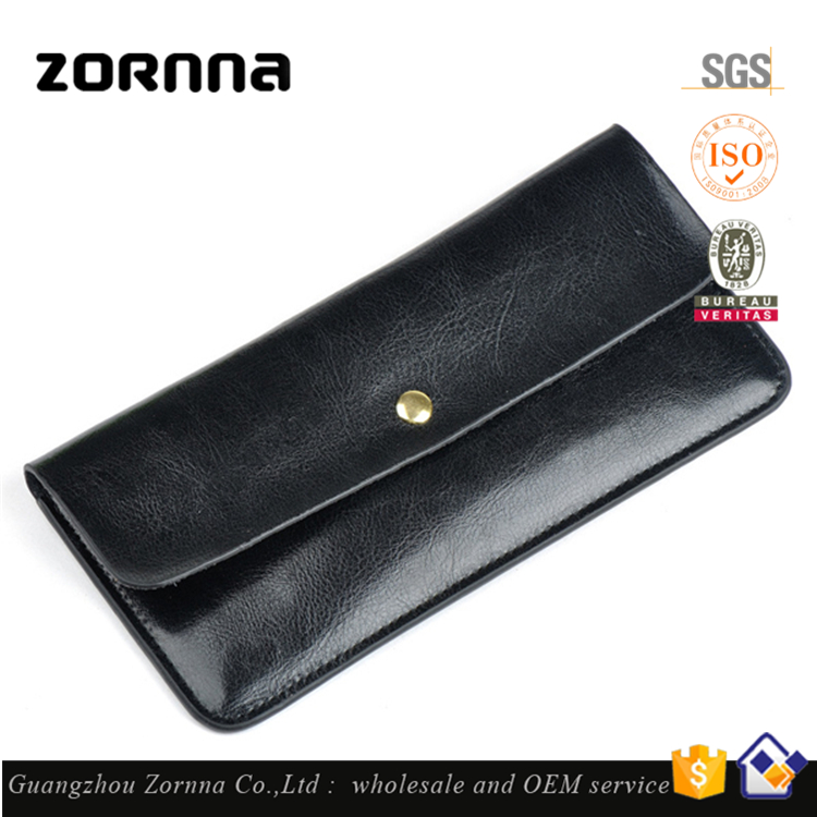 Exquisite Appearance Soft Touching Generous Genuine Leather Travel Wallet Women