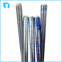 popular sale plastic soft pvc clear film for weight 3kg/roll
