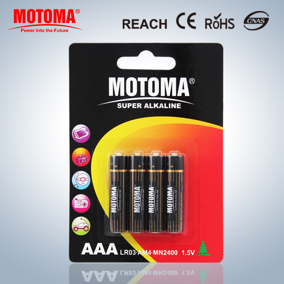 AAA batteries alkaline LR03 1.5v battery for remote control