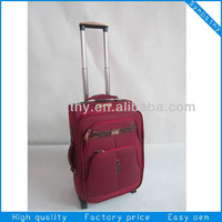 factory wholesale 2014 soft sided polyester luggage