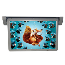 15.6inch bus/car roof mounted lcd led motorized TV/monitor/screen with AV input