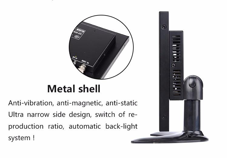 Metal cover of led tv hd-sdi cctv tester monitor 9.7 inch .jpg