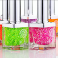 Pure incense tasteless nail polish with glitter