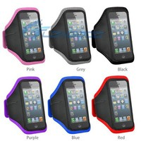Waterproof Running Case Mobile Phone Sports Armband for iPhone 5