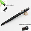 3 in 1 multi customs tools pen stylus pen outdoor camping self defense tactical pen