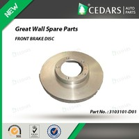 FRONT BRAKE DISC for great wall auto spare parts