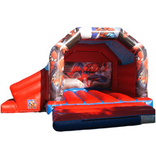 commercial grade Spider man inflatable bouncer/ bounce house/ jumping castle with slide