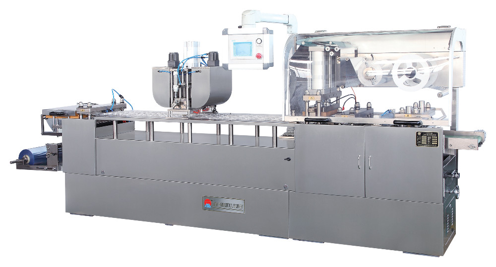 DPB-350 Jam Chocolate Blister Packing Machine