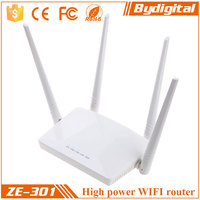 Bydigital 300Mpbs 2.4GHz WIFI router with 4 external 5dbi antenna