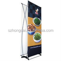 Mobile Indoor And Outdoor exhibition show banner stand