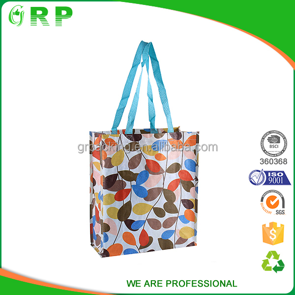 Promotional custom reusable color printing grey felt tote bags