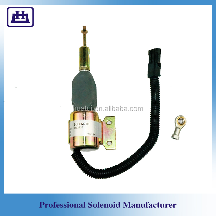5.9L 6BT Excavator 3939701 Spare Parts Engine Solenoid Valve for Cummin